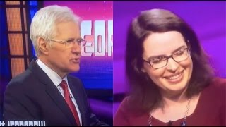 """Loser"" Nerd Gets ROASTED By Alex Trebek on Jeopardy 