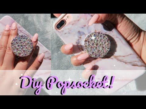 TUTORIAL | DIY EXTRA AF Crystal Pop Socket | J Wong