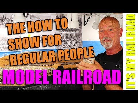 It's My Railroad: Regular people enjoying model railroading.