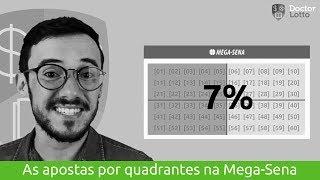 Você sabe como funciona a aposta por quadrantes na Mega Sena? | Doctor Lotto