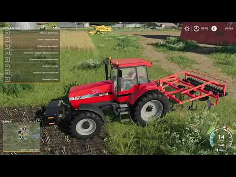 Русское поле Или Американская ФЕРМА! Farming Simulator 2019