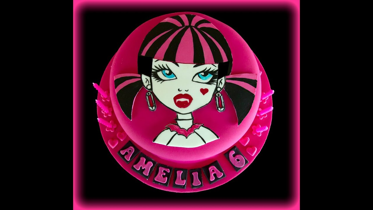 Pictures Of Monster High Birthday Cakes