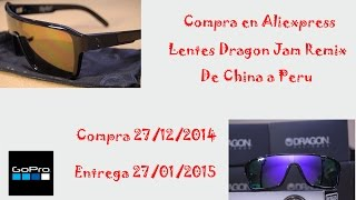 Aliexpress Unboxing Lentes de Sol Dragon Jam Remix