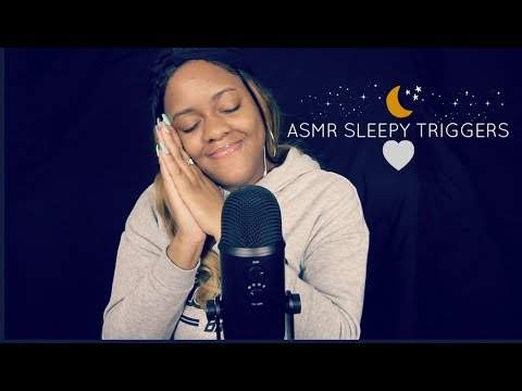 ASMR Sleepy Triggers For Relaxation ~