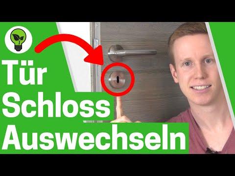 Turschloss Auswechseln Ultimative Anleitung Wie Zimmerturschloss Ausbauen Turklinke Wechseln Youtube