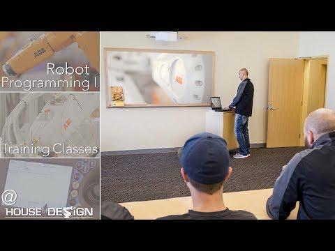 Robotics Engineering Training Classes at House of Design Robotics