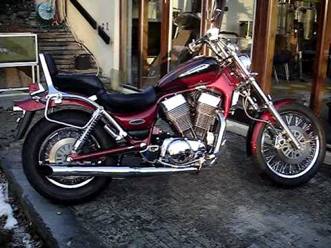 suzuki intruder vs 1400 with silver tail exhaust youtube. Black Bedroom Furniture Sets. Home Design Ideas