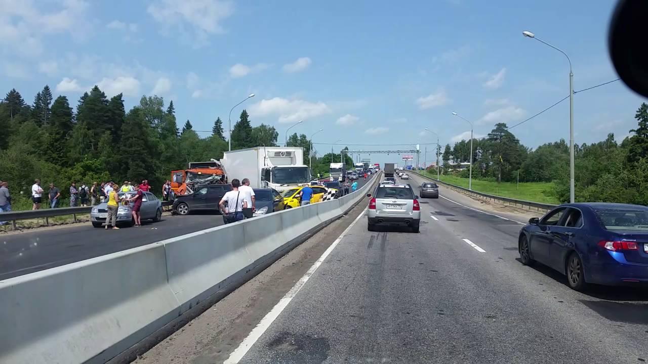 Авария без водителя