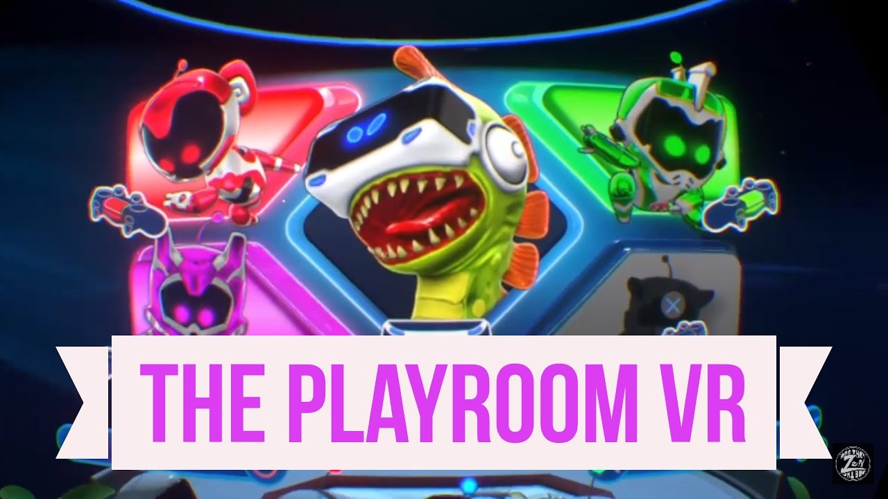 Playstation Vr The Playroom Vr Youtube