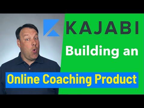 Building an Online Coaching Product [Kajabi Tutorials]
