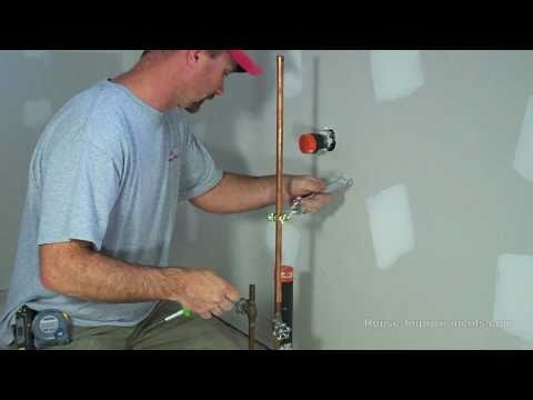 How To Install A Water Line To Your Fridge How To Save