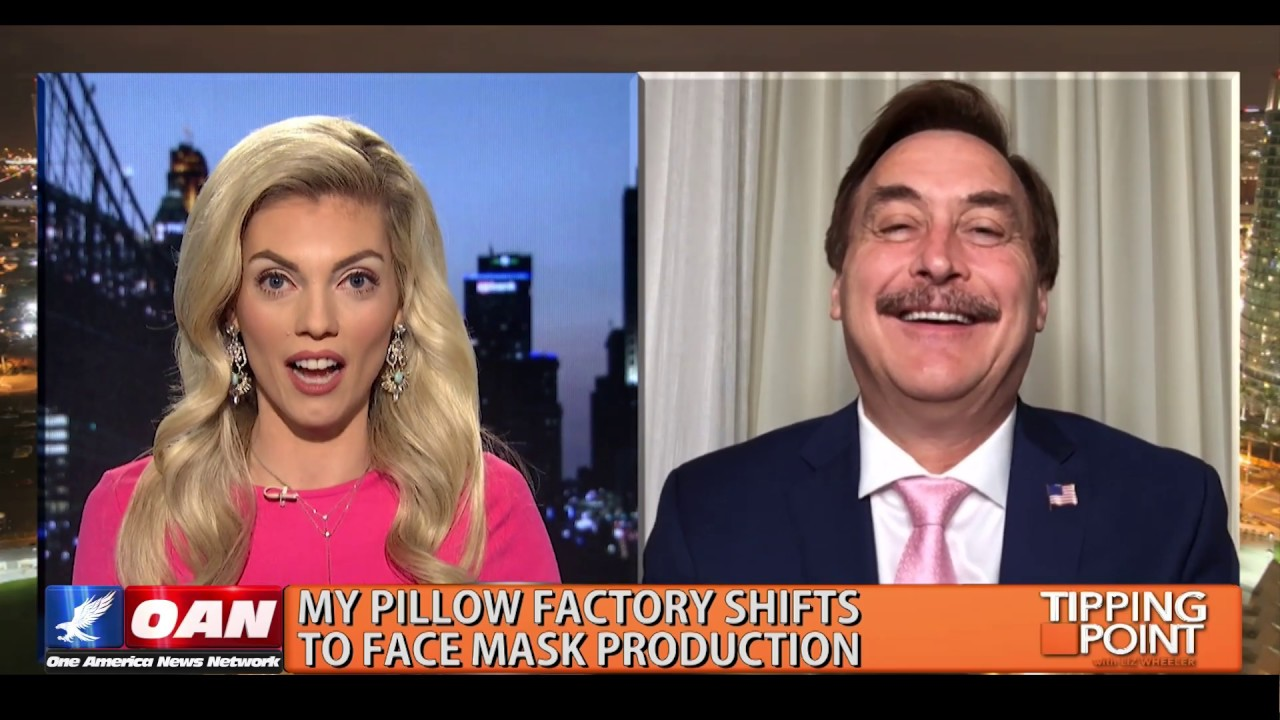 Mike Lindell, My Pillow CEO, Shifts Factory to Face Mask Production