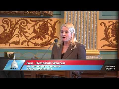 Sen. Rebekah Warren Believes Access to Healthcare is a Right