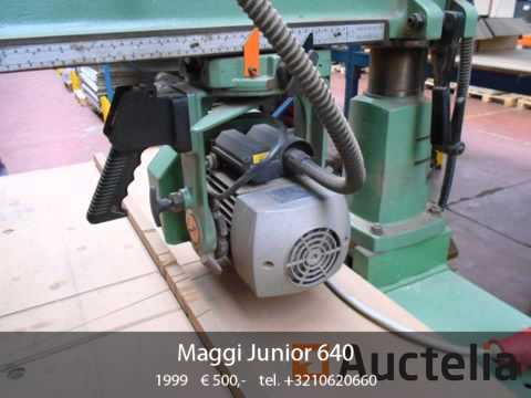 maggi junior 640 youtube rh youtube com Miter Saw Homelite Saw Manuals