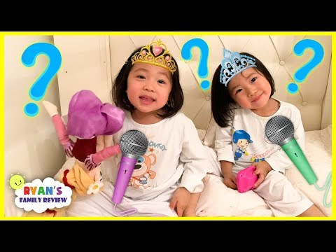 Interview with 3 year old twins Emma and Kate! Q&A!