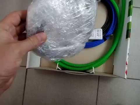 Теплый пол на основе нагревательного кабеля Profitherm (Польша)