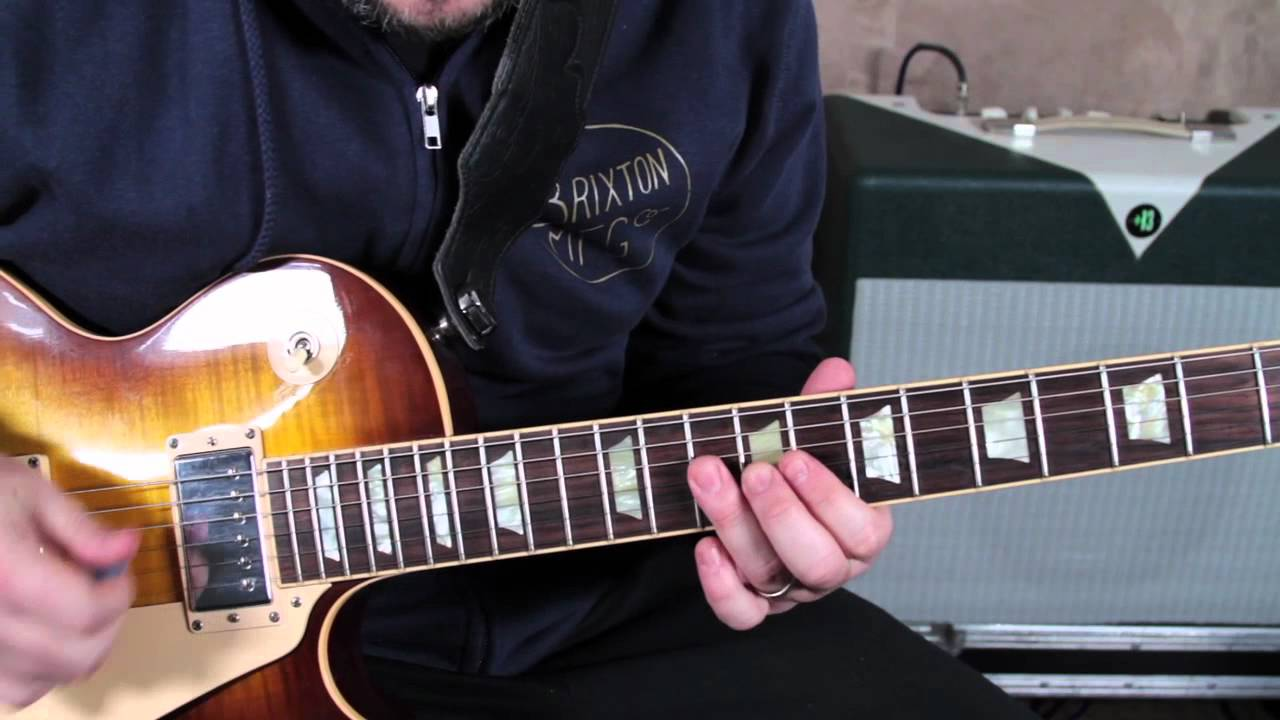 The Black Crowes Remedy Guitar Lesson How To Play Youtube