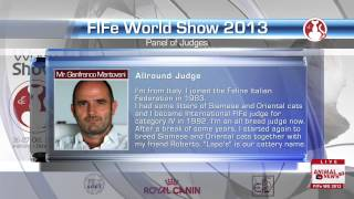 FIFe World Show 2013 - Panel of Judges - HD 720