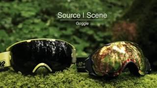 2017 k2 source scene ski goggles