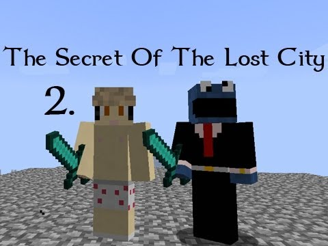 The Secret Of The Lost City W/ BlueSandvich - Part 2 (Minecraft)