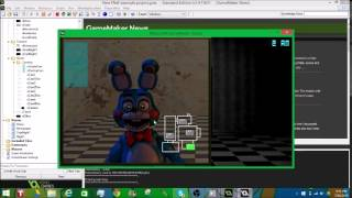 How to make a FNaF game in Game Maker
