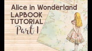 Alice in Wonderland Interactive Lapbook Tutorial | Part 1