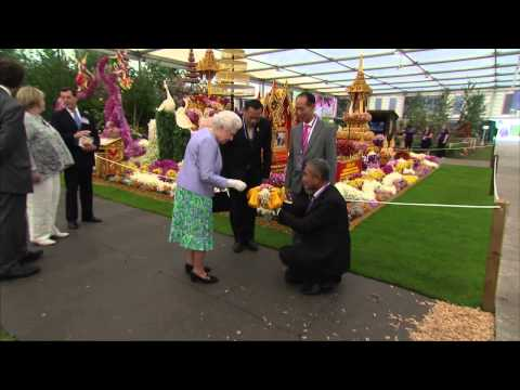 The Queen attends the Chelsea Flower Show