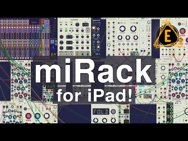 miRack Modular Synthesizer for iPad - My Favorite Black Friday Purchase!