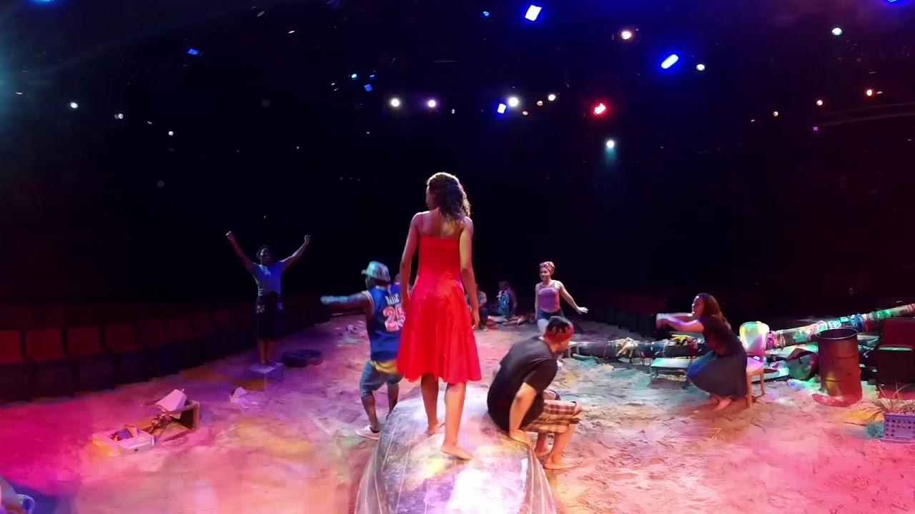 360 Video: On-Stage at Broadway's