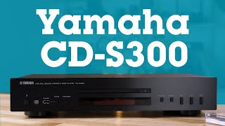 Yamaha CD-S300 single-disc CD player with USB port | Crutchfield