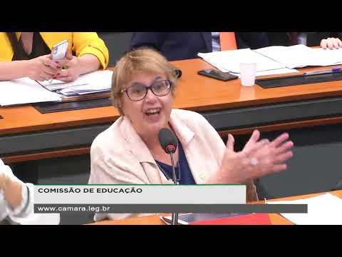 Deputada Margarida Salomão desmonta o discurso do Ministro da Educação