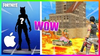 NEW SKIN FROM APPLE?! FLOOR MODE IS LAVA! | FORTNITE