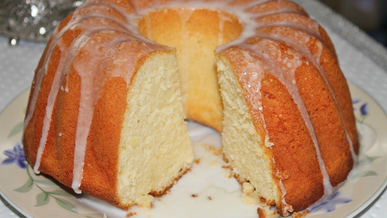 Tereyağlı Limonlu Kek Tarifi