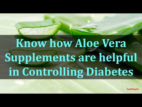 9213  Know how Aloe Vera Supplements are helpful in Controlling Diabetes