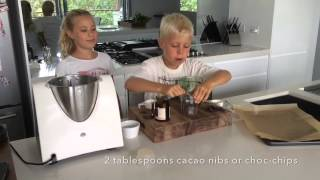 Well Nourished Kids In The Kitchen - Healthy Choc-chip Cookies