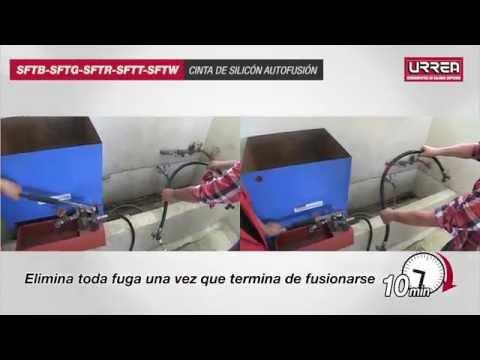Repara fugas con cinta de silicón autofusión Urrea