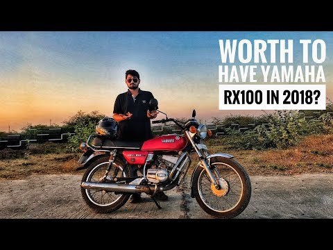 YAMAHA RX100 in 2018? | Back View Smoke | Review | Things Before You Buy