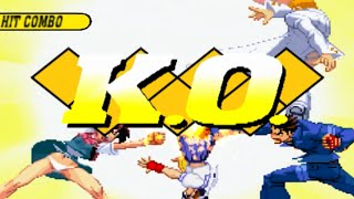 [HD]CAPCOM VS. SNK 2 Drastic Super Combo K.O.