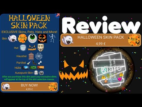 Nebulous Halloween Skin Pack Review!  (4.99€) New Halo's, Skin's, Pet's, Het's, Mass-Skin's,Particle