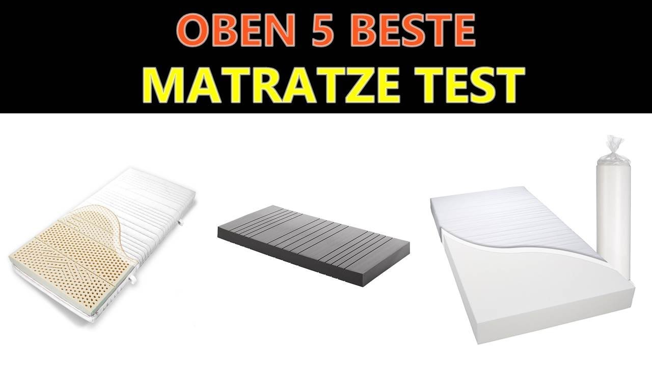 Beste Matratze Test Youtube