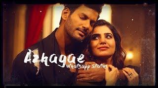 Azhagae Whatsapp Status Song | Irumbuthirai | Whatsapp Status