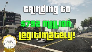 GTA Online Grinding to $792 Million Legitimately And Helping Subs