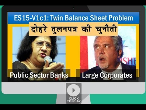 BES161/P2: Twin Balancesheet problem, NPA, Insolvency & Bank