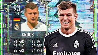 93 FLASHBACK KROOS REVIEW! FIFA 21 FLASHBACK TONI KROOS SBC PLAYER REVIEW