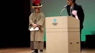 GOH: 天野喜孝氏の挨拶 【音ズレのため再掲】