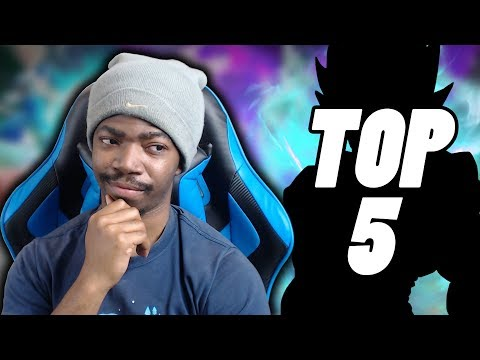 TOP 5 CHARACTERS I WANT TO SEE IN DRAGON BALL FIGHTERZ!!!