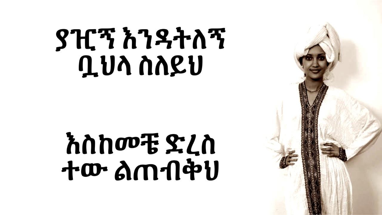 Sayat Demissie - Ene Meretku እኔ መረጥኩ (Amharic With Lyrics)