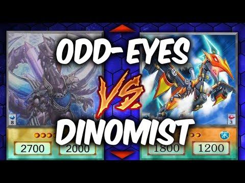 Duel Week: DINOMIST vs ODD-EYES (Yugioh Deck Mastery)