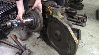 John Deere 350B Final Drive Disassembly