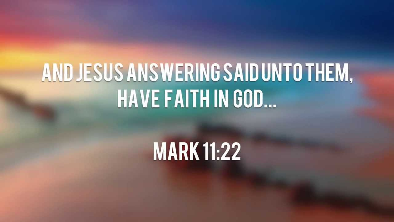 Bible Quotes On Faith Interesting Bible Verses About Faith  Youtube